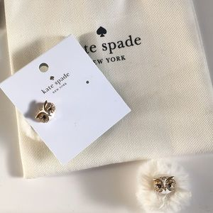 Brand NWT Kate Spade Owl Earrings